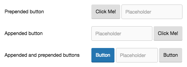 form group buttons